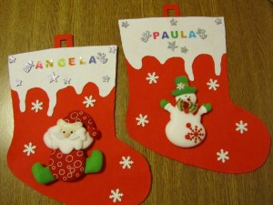 2014-12-06 botas de Navidad Paula y Angela (1)